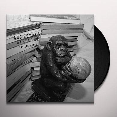 God Equals Genocide RATTLED MINDS Vinyl Record