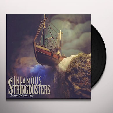The Infamous Stringdusters LAWS OF GRAVITY Vinyl Record