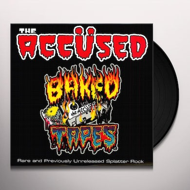 The Accused BACKED TAPES Vinyl Record
