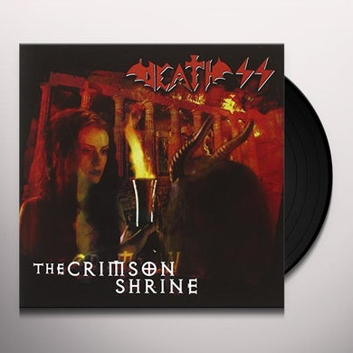 Death Ss CRIMSON SHRINE Vinyl Record