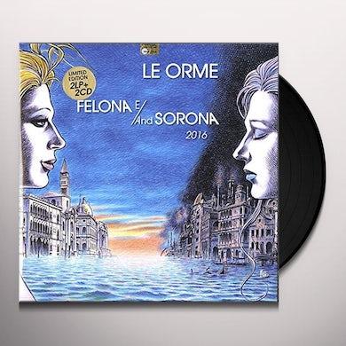 Orme FELONA E/AND SORONA 2016 LIMITED NUMBERED EDITION Vinyl Record