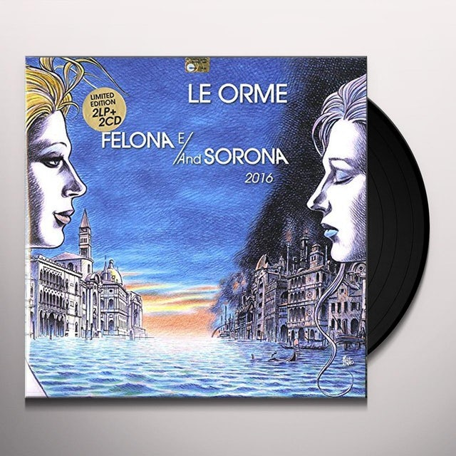 Orme FELONA E/AND SORONA 2016 LIMITED NUMBERED EDITION Vinyl Record