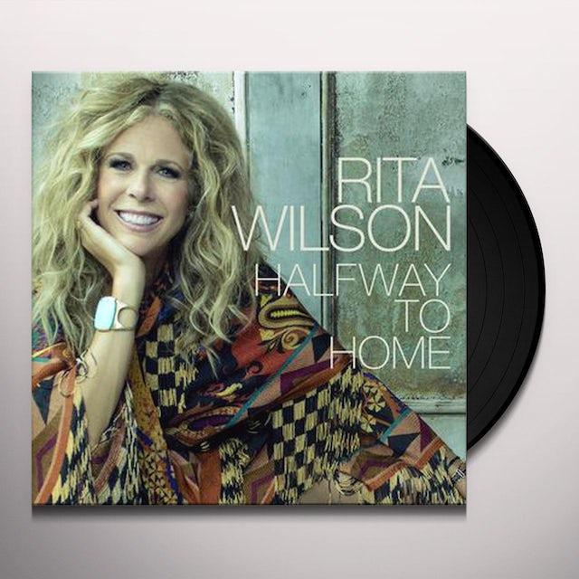 Rita Wilson HALFWAY TO HOME Vinyl Record