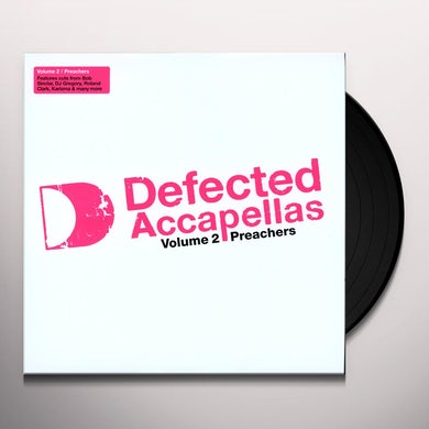 Defected Accapellas 2 / Various Vinyl Record - UK Release