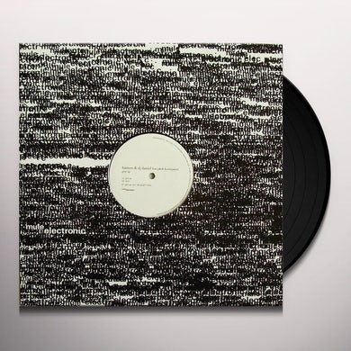 Hansen & Dj Daniel GIVE UP Vinyl Record