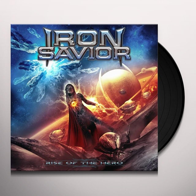 Iron Savior RISE OF THE HERO Vinyl Record