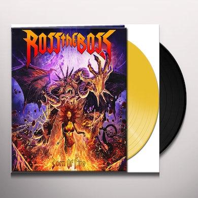 Ross The Boss BORN OF FIRE Vinyl Record
