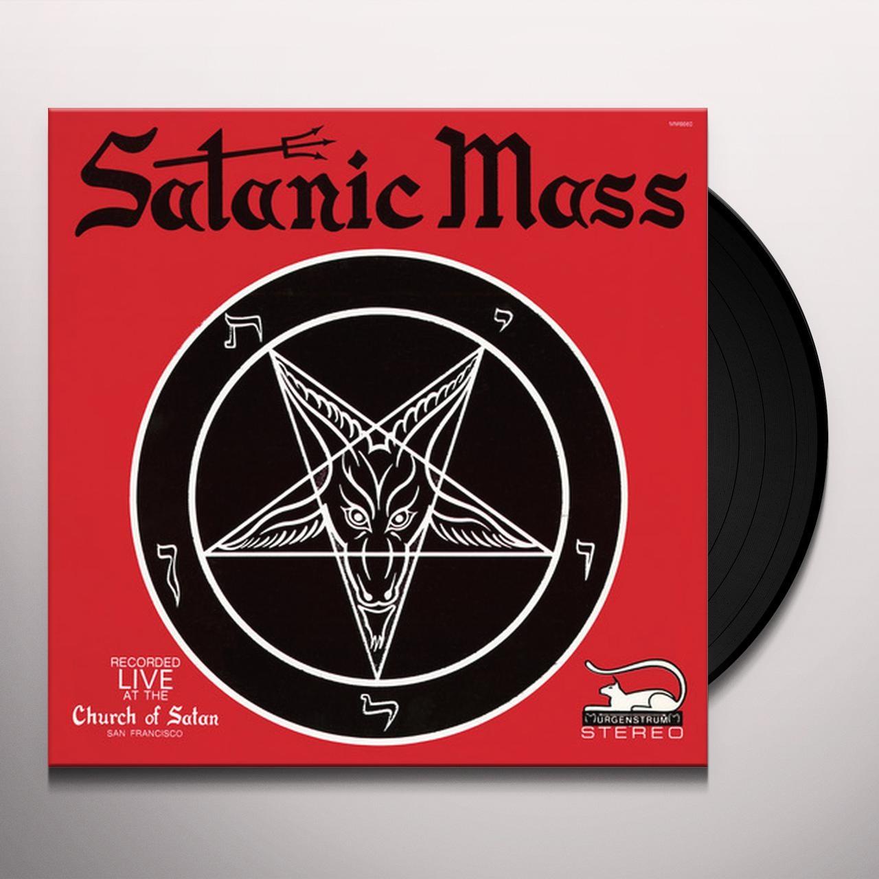 Anton LaVey SATANIC MASS Vinyl Record