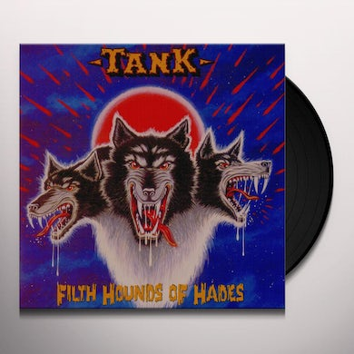 Tank FILTH HOUNDS OF HADES (RED & BLUE VINYL) Vinyl Record