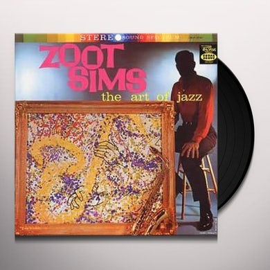 Zoot Sims ART OF JAZZ Vinyl Record - UK Release