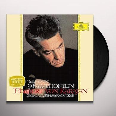 KARAJAN / BERLINER PHILHARMONIKER BEETHOVEN SYMPHONIES Vinyl Record