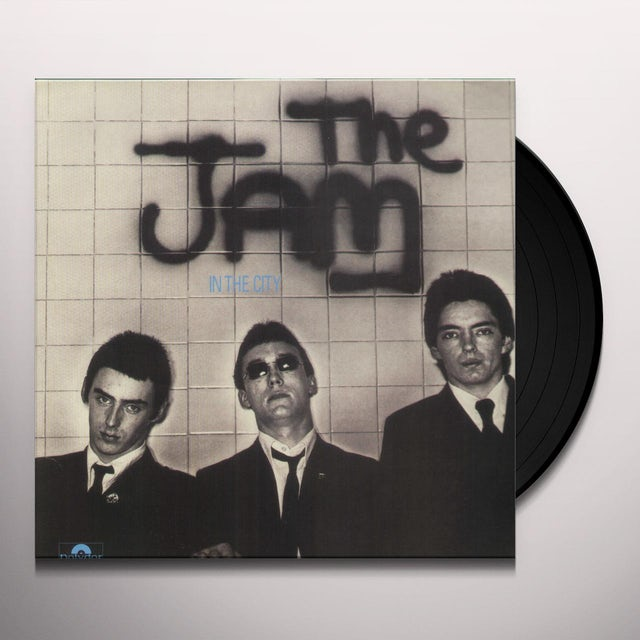 The Jam IN THE CITY Vinyl Record - Holland Release