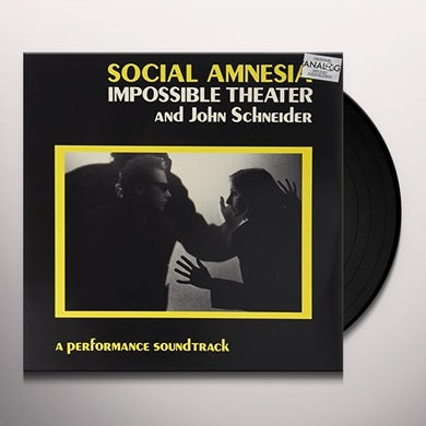 IMPOSSIBLE THEATRE SOCIAL AMNESIA / Original Soundtrack Vinyl Record