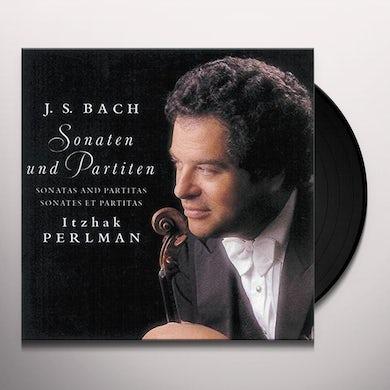 BACH: SONATAS & PARTITAS FOR SOLO VIOLIN Vinyl Record