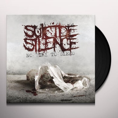 Suicide Silence NO TIME TO BLEED - Limited Edition 180 Gram Colored Vinyl Record