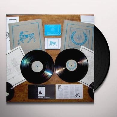 Dave/League Of Nations Sinfield OBLIQUE STRATEGY/MUSIC FOR THE NEW DEPRESSION Vinyl Record