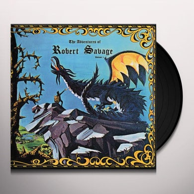 ADVENTURES OF ROBERT SAVAGE VOL 1 Vinyl Record