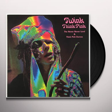 NEVER NEVER LAND & THINK PINK DEMO Vinyl Record