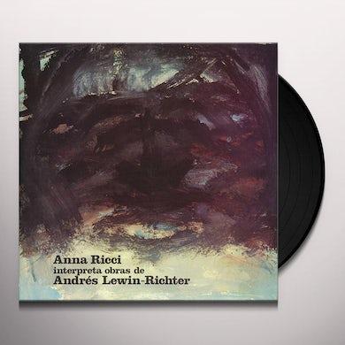 ANNA RICCI INTERPRETA OBRAS DE ANDRES LEWIN Vinyl Record