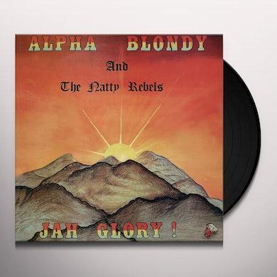 Alpha Blondy JAH GLORY Vinyl Record