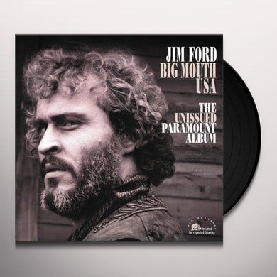 Jim Ford BIG MOUTH USA-UNISSUED PARAMOUNT ALBUM Vinyl Record