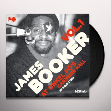 James Booker AT ONKEL PO'S CARNEGIE HALL HAMBURG 1976 1 Vinyl Record