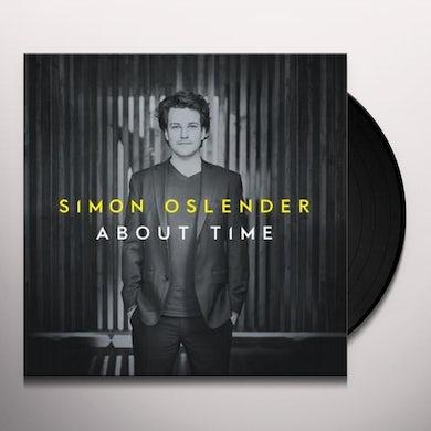 Simon Oslender ABOUT TIME Vinyl Record