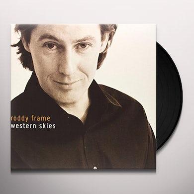 Roddy Frame WESTERN SKIES Vinyl Record - UK Release