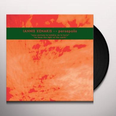 Xenakis PERSEPOLIS Vinyl Record