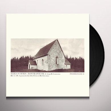 Maria Horn KONTRAPOETIK Vinyl Record