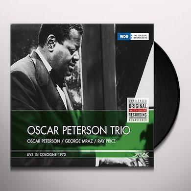 Oscar Peterson LIVE IN COLOGNE 1970 Vinyl Record