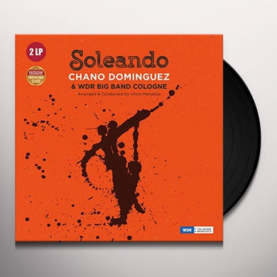 SOLEANDO WITH WDR BIG BAND COLOGNE Vinyl Record