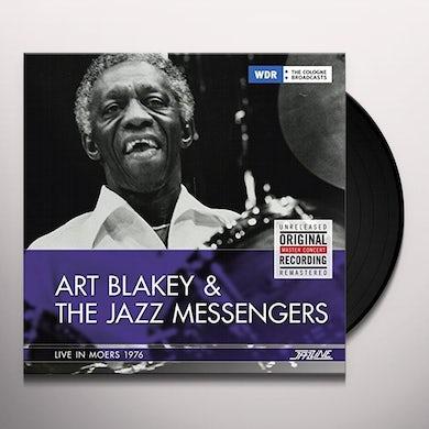 Art Blakey / Jazz Messengers LIVE IN MOERS 1976 Vinyl Record