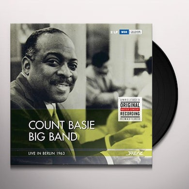 Count Big Band Basie LIVE IN BERLIN 1963 Vinyl Record