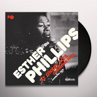 Esther Phillips AT ONKEL PO'S CARNEGIE HALL HAMBURG 1978 Vinyl Record
