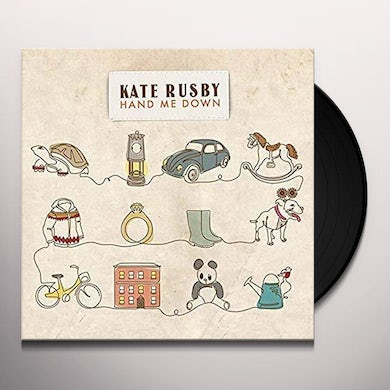 Kate Rusby HAND ME DOWN Vinyl Record