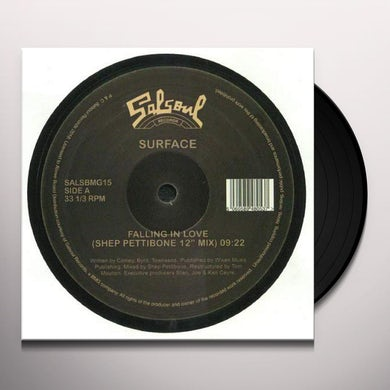 Surface FALLING IN LOVE (SHEP PETTIBONE REMIX) Vinyl Record