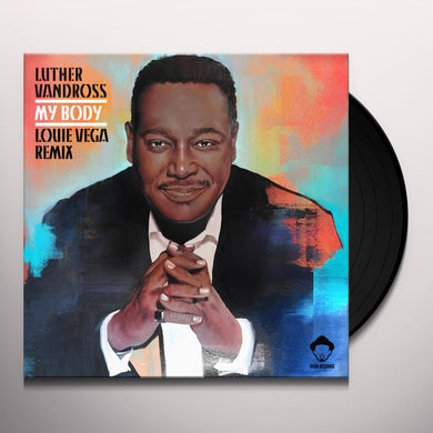 Luther Vandross MY BODY (LOUIE VEGA REMIXES) Vinyl Record