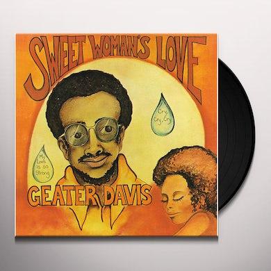 Geater Davis SWEET WOMAN'S LOVE Vinyl Record