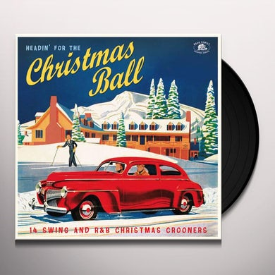 HEADIN' FOR THE CHRISTMAS BALL: 14 SWING / VARIOUS Vinyl Record