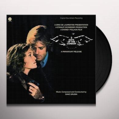 Dave Grusin 3 DAYS OF THE CONDOR / Original Soundtrack Vinyl Record
