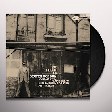 Dexter Gordon ONE FLIGHT UP Vinyl Record