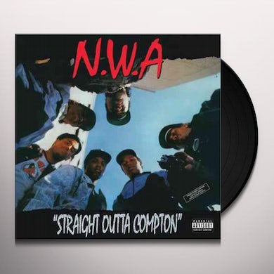 N.W.A. Straight Outta Compton (LP)(Remastered)(Explicit) Vinyl Record