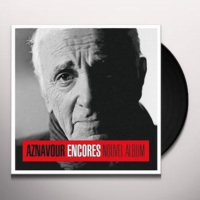 Charles Aznavour ENCORES Vinyl Record