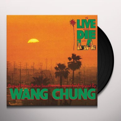 Wang Chung TO LIVE & DIE IN L.A. Vinyl Record