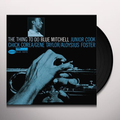 Blue Mitchell THING TO DO Vinyl Record