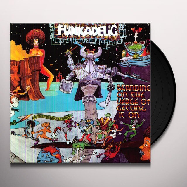 Funkadelic STANDING ON THE VERGE OF GETTING IT ON Vinyl Record