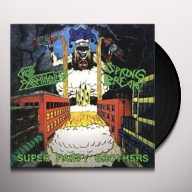 SUPER PARTY BROTHERS SPLIT Vinyl Record