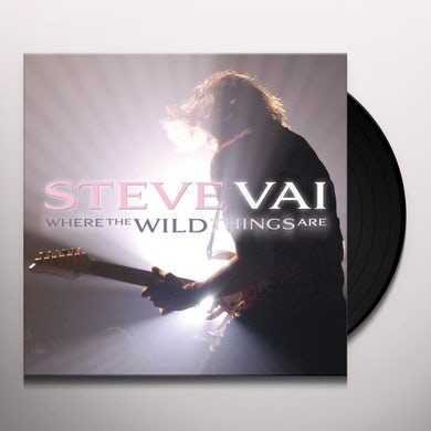 Steve Vai WHERE THE WILD THINGS ARE Vinyl Record