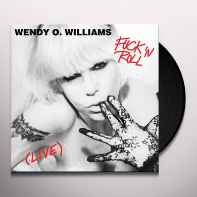 Wendy Williams FUCK 'N ROLL (LIVE) Vinyl Record